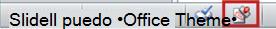El icono Marcar como final aparece en la barra de estado de PowerPoint 2010.