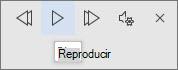 Selecciona Reproducir