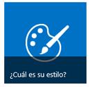 Cuál es su botón Estilo de los iconos Introducción