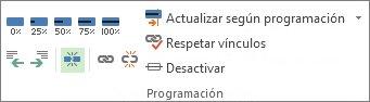 Imagen del botón Dividir tarea en la pestaña Tarea.