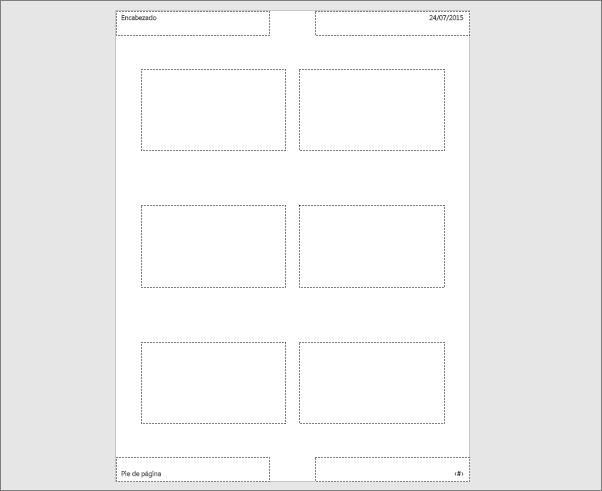 Muestra el patrón de documentos en PowerPoint
