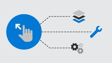 Ilustración de herramientas de desarrollador.