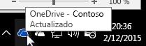 Cliente de sincronización de OneDrive para la Empresa