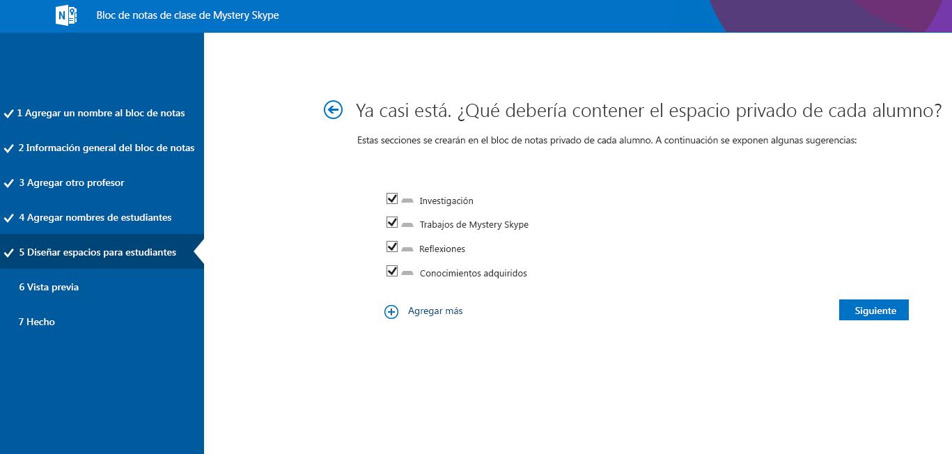 Diseñar espacios en Mystery Skype