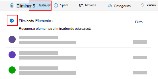 Restaurar Mensajes De Correo Electronico Eliminados En Outlook Com