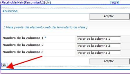 Formularios de SharePoint Designer