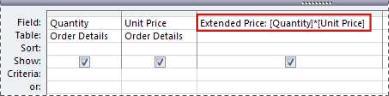 Usar una expresión para crear un campo calculado en una consulta