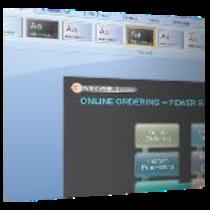 Interfaz de PowerPoint 2007