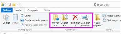Abra la carpeta donde se encuentra el archivo descargado.