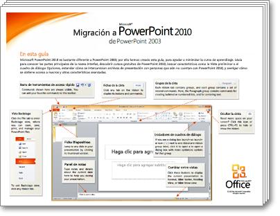 Miniatura de la Guía de migración de PowerPoint