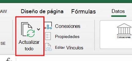 Usar Power Query en Excel para Mac