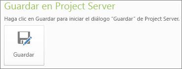 Imagen de guardado en el servidor