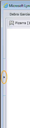 Flecha Mostrar conversación