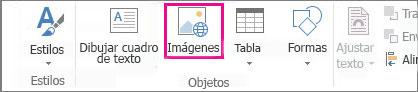 Insertar imágenes