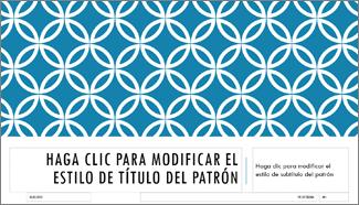 Diseño de diapositiva de título integral en PowerPoint