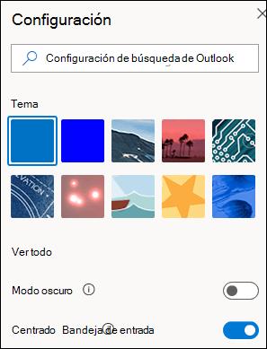 Una captura de pantalla muestra el panel Configuración con la opción de bandeja de entrada prioritarios seleccionada para activarla.