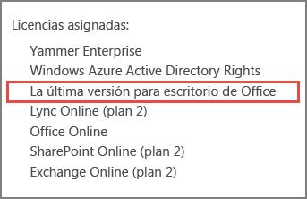 The latest desktop version of Office