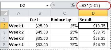 Aplicar formato a números como porcentajes - Soporte de Office