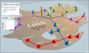 Imagen de un mapa personalizado