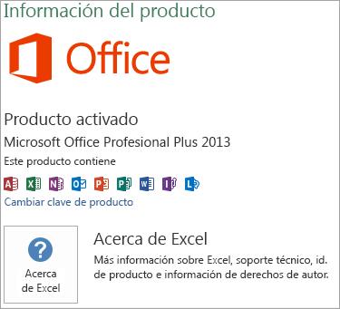 Instalación MSI de Excel