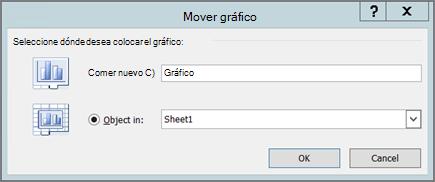 Mover un gráfico o cambiarlo de tamaño - Excel