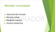 """Ejemplo de una marca de agua de """"BORRADOR"""", que se usa como fondo de una diapositiva de PowerPoint"""