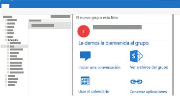 Ver y leer o responder a conversaciones de grupo en Outlook para Mac