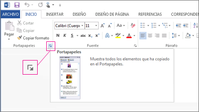 Copiar Y Pegar Con El Portapapeles De Office Soporte De Office