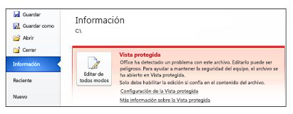 Advertencia de seguridad, Editar de todos modos