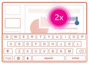 Activar teclado en pantalla