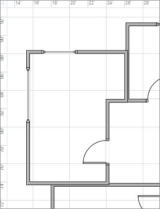 """Configuración de las líneas de la cuadrícula en """"Grueso"""""""