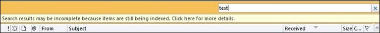 Error de Outlook