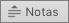 Muestra el botón Notas en PowerPoint 2016 para Mac.