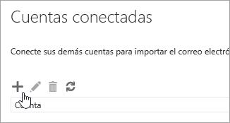 Captura de pantalla del botón Nuevo.