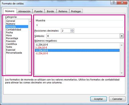 Aplicar formato a números - Soporte de Office