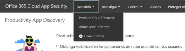 En el portal de entidades emisoras de certificados de Office 365, elija detectar