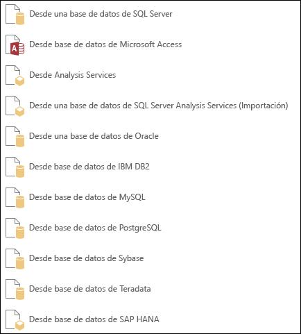 Obtener datos de una base de datos
