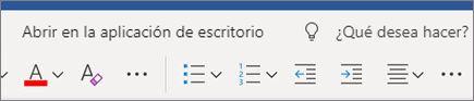 Editar en Word