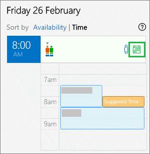 Calendario del organizador