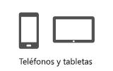 Teléfonos y tabletas