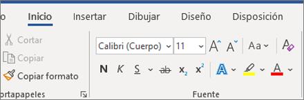 Agregar texto y darle formato en Word