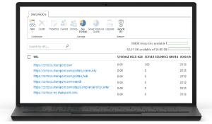 Imagen de herramientas de administración de SharePoint Online