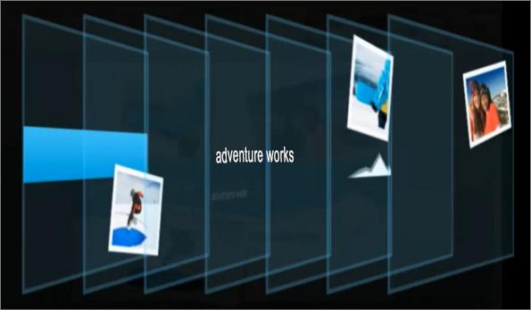 Visualización de capas de diapositiva