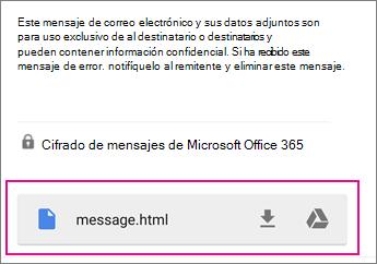Visor de OME con Gmail en Android 1