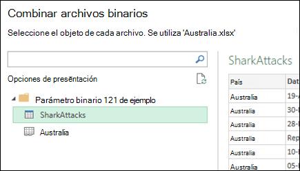 Combinar archivos en una carpeta con Combinar archivos binarios ...