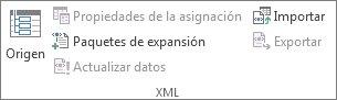 Actualizar datos XML