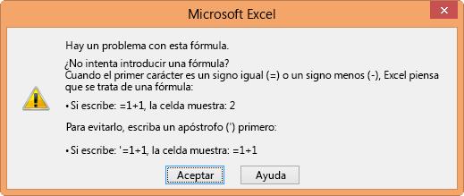 Error message about broken formulas