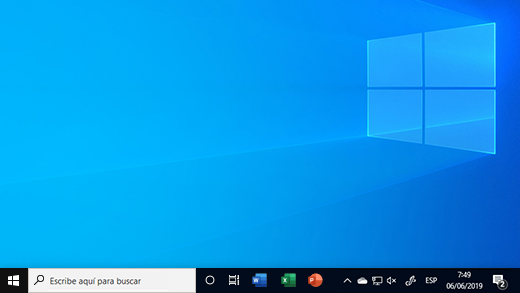 Barra de tareas en Windows 10