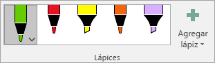 Galería de lápices