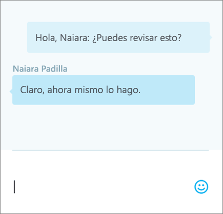 Chatear en un documento: 3